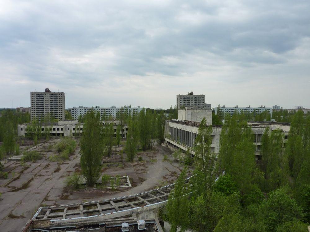 Opuszczone miasto Prypeć