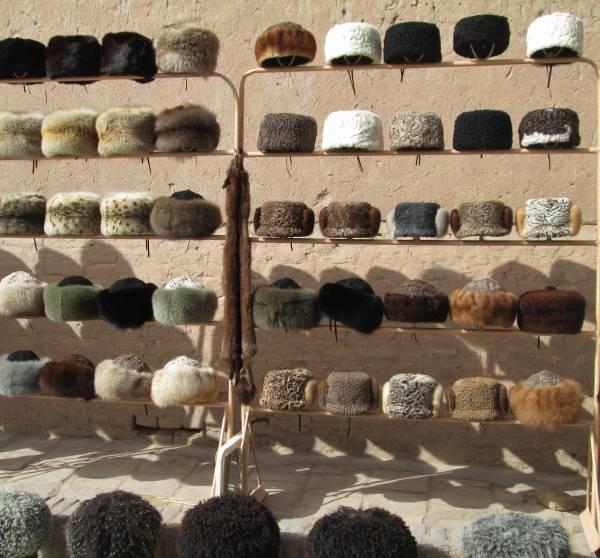 futrzane czapy wChiwie