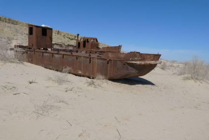 Na dnie Morza Aralskiego, Mujnak