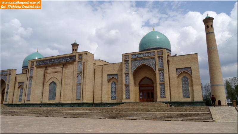 1. Taszkent.Khast Imom -największy kompleks religijny