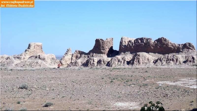 10. Ruiny twierdzy Ayaz-Kala
