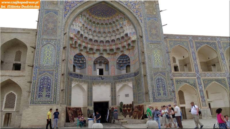22. Buchara - portal Medresy Abdulaziz-Chana