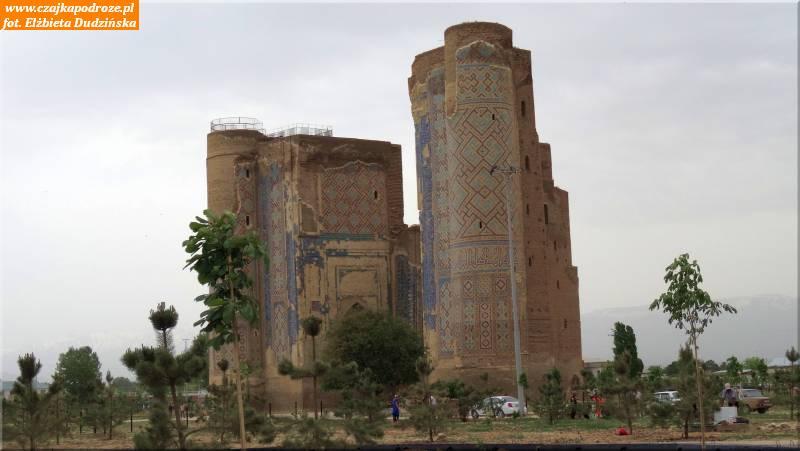 30. Szahrisabz - Ak Saray -ruiny letniego pałacu Timura