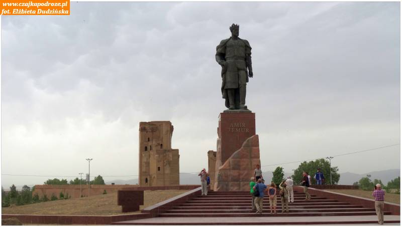 31. Szahrisabz. Pomnik Timura
