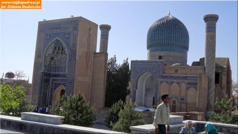 33. Samarkanda - Mauzoleum Gur-Emir -grobowiec Timura ijego następców