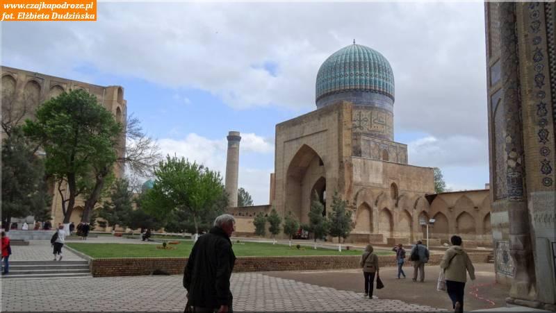 36. Samarkanda - meczet Bibi Chanym