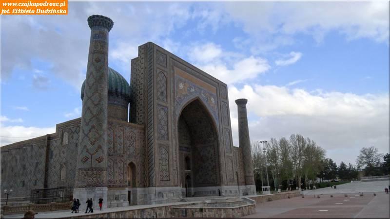 39. Samarkanda -Medresa Sher-Dor (XVII w.)