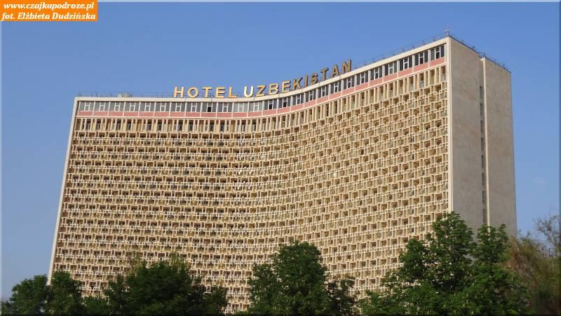 4. Taszkent. Hotel Uzbekistan