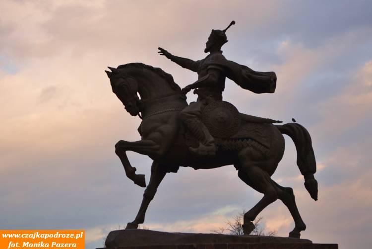 Pomnik Amira Temura, czyli Tamerlana, wTaszkencie