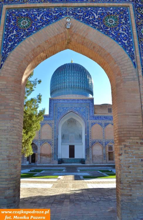 Mauzoleum Gur-i Mir, czyli grób króla - miejsce pochówku Tamerlana