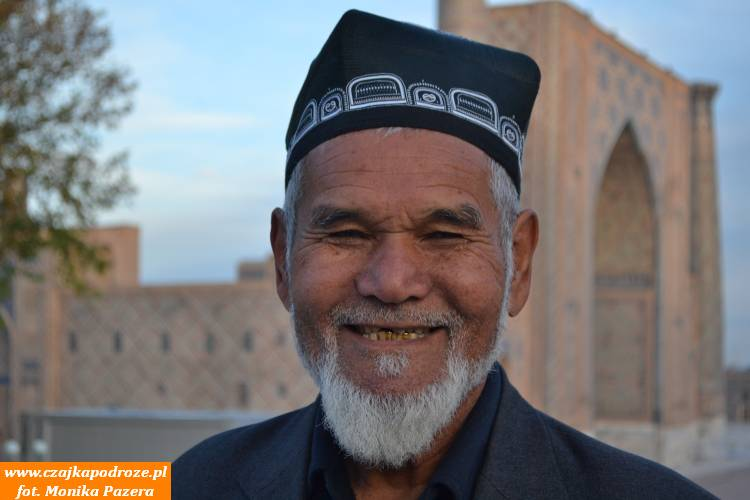 Wszechobecne złote zęby, towciąż jest trendy wUzbekistanie