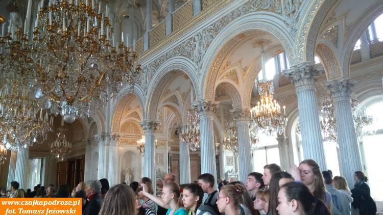 Ermitaż zadziwia przepychem...