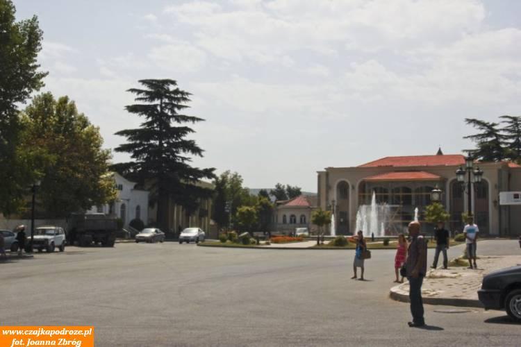Mccheta - niewielkie 19 tysięczne miasteczko 25 km odTbilisi.