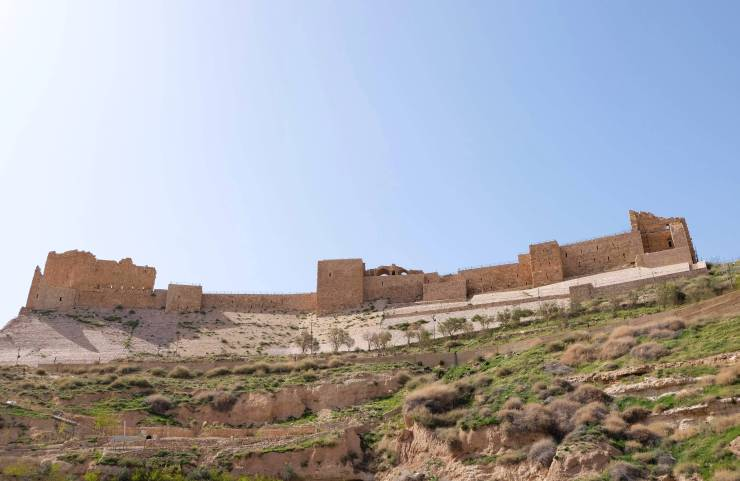 Następny przystanek, zamek Krzyżowców wAl-Karak.